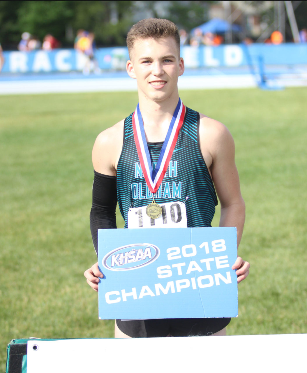 Clay Franklin Wins State Pole Vault Title