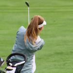 Girls Golf Weathers the Storm to Defeat Mercy