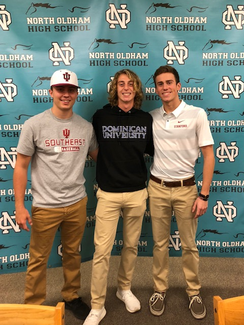 Three NOHS Student Athletes Sign to Play Collegiate Sports