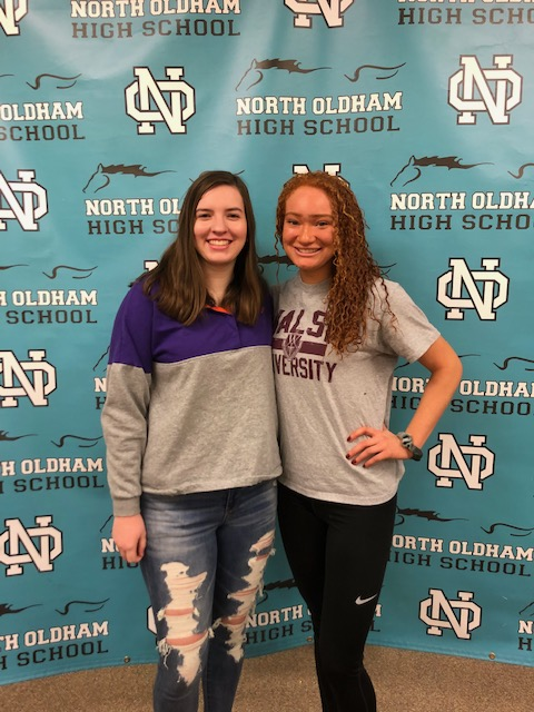 Junion and Roberts Sign to Play Collegiate Volleyball
