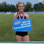 Girls Track Finishes 4th at State – Raegan Franklin State Champ in Pole Vault