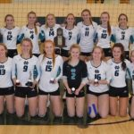 Girls Volleyball Wins 9th Consecutive District Title, Advance and Host Regionals