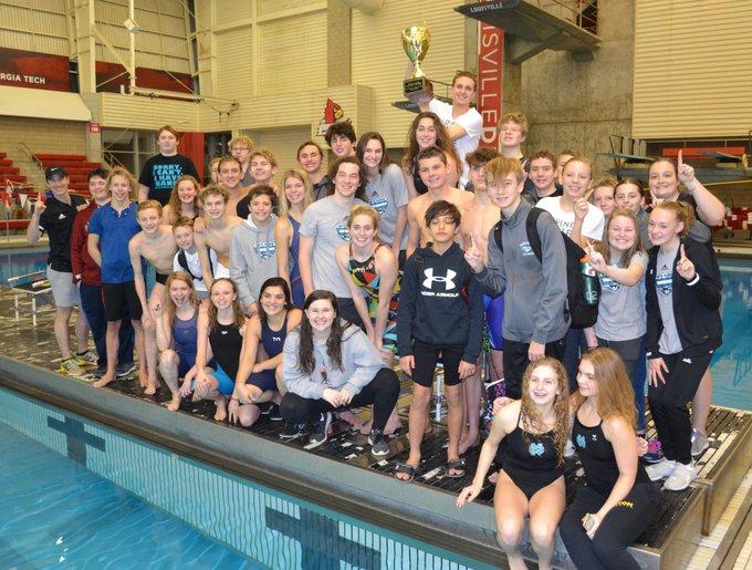 North Swim Team wins 10th Straight Oldham County Cup