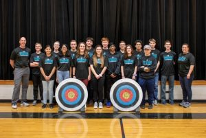 NOHS Archery Team 2020