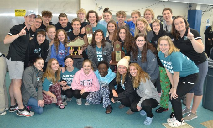 North Oldham Wins Girls and Boys 2020 Region Six Swimming and Diving Titles.