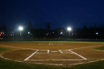 Lights for Softball and Baseball Fields at NOHS