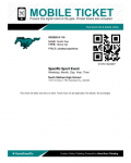 Ticketing information for North Oldham High School Fall Sports