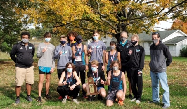 Boys XC Regional Champs, Girls Runner Ups
