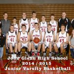 John Glenn High School Junior Varsity Basketball falls to Concord High School 37-55