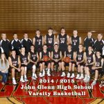 John Glenn High School Varsity Basketball falls to Wawasee High School 45-52