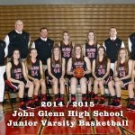 John Glenn High School Junior Varsity Basketball beat Jimmies 59-18
