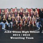 John Glenn High School Varsity Wrestling finishes 9th place