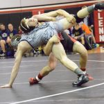 John Glenn High School Varsity Wrestling falls to New Prairie High School 27-51