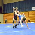 Wrestling Shows Spirit in Loss to Triton