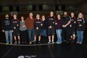 Varsity Wrestling Seniors