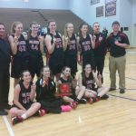 JV Lady Falcons Take Home TCU Bi-County Championship