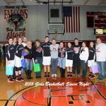 Lady Falcons Survive Late Come Back vs Adams on Senior Night