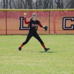 JV Softball Splits DH with Bremen