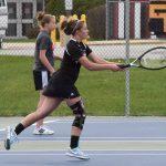 John Glenn High School Girls Varsity Tennis falls to Tippecanoe Valley High School 1-4
