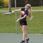 John Glenn High School Girls Varsity Tennis falls to Rochester High School 0-5
