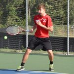 Boy's Tennis Loses a Close One to Tippy Valley