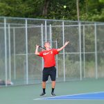 Boy's Tennis Falls on the Road to Bremen