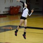 Volleyball Picks Up a Win on the Road Over Knox