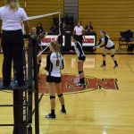 Volleyball Beats M.C. Marquette in Final Road Game of the Season