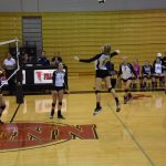 Volleyball Takes Down Plymouth in 4 Sets