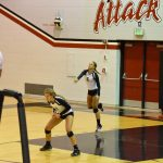 Volleyball Starts Strong, But Falls to New Prairie