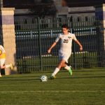Boy's Soccer Takes Down Adams Off the Foot of Gensinger