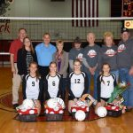 Volleyball Finishes Regular Season with a Win Over Winamac