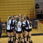 Volleyball Season Comes to a Close in Loss to St. Joe