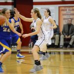 Lady Falcons Earn NIC Win on the Road Over Bremen