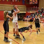 Lady Falcons Beat Marian for 6th Consecutive Victory