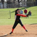Softball Falls on the Road to S.B. Clay