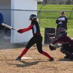 Softball Loses on the Road to S.B. Adams
