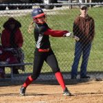 Softball Loses to LaVille in Last Game at Queen of Diamonds