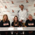 Ashley Burnett Signs at Indiana Tech!!