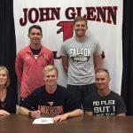 Nathan Palmer Signs at Anderson University