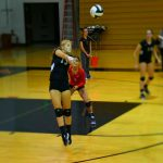Volleyball's Strong Defense Holds for Win Over Jimtown