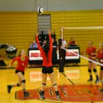 Volleyball Loses to St. Joe