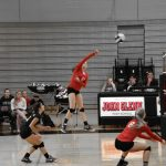 Volleyball Starts Strong, But Falls to Marian