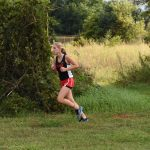 Girl's Cross Country Shows Well at Cougar Kick Off