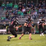 Football Plays Tough, But Loses to New Prairie