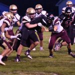 Football Falls to Jimtown on Rain Soaked Homecoming Night