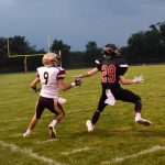 Football Falls on the Road to Riley