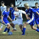 Boy's Soccer Beats Clay in Final Regular Season Game