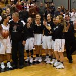 Stull Hits 1,000 Points as Lady Falcons Roll Over Riley