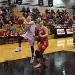 Lady Falcons Overcome Slow Start to Roll Over Plymouth